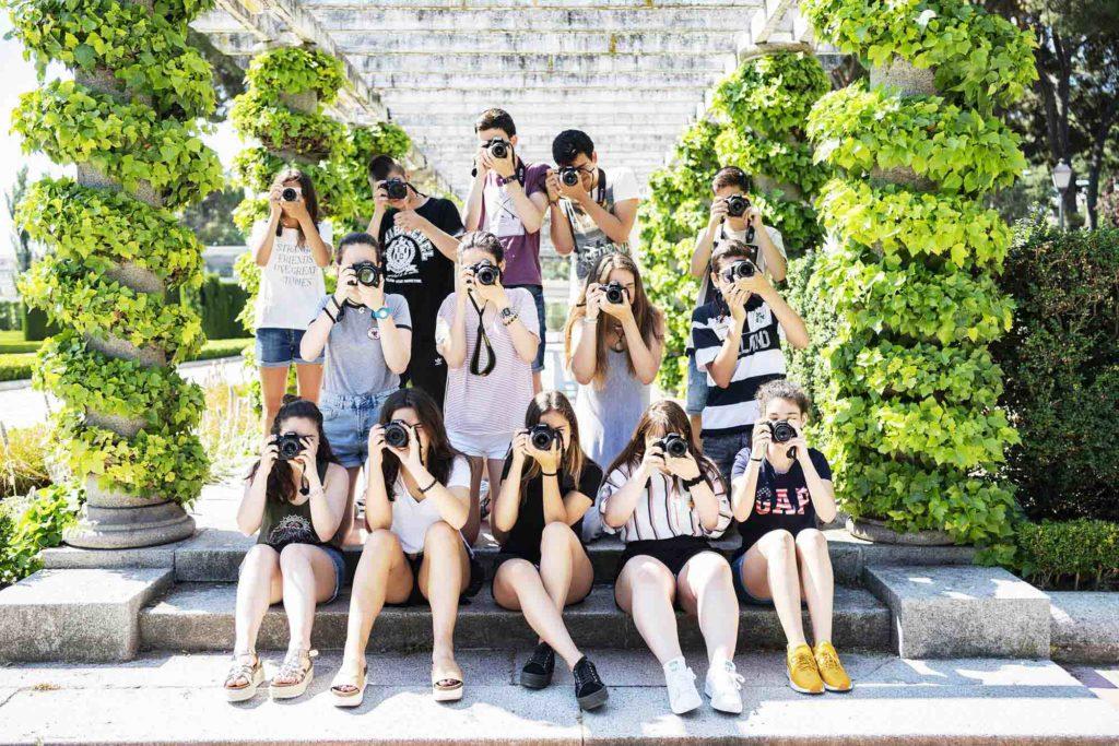 curso de verano de fotografía para adolescentes